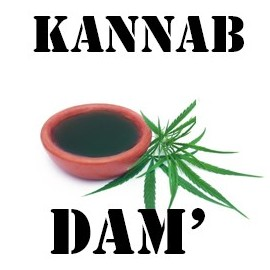 E-liquide cannabis THC DAM' (K5) 10ml