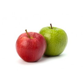 E-liquide double pommes