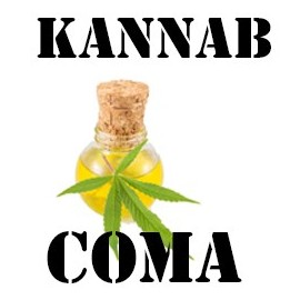 E-liquide cannabis CBD COMA (K4) 10ml